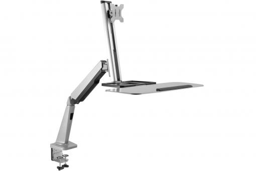 Ergonomic Stand/ Sit Workstation for Desktop Mount