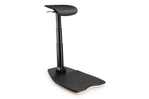 Ergonomic Stand / Sit / Lean Chair, Height Adjustable with Anti-Fatigue Mat