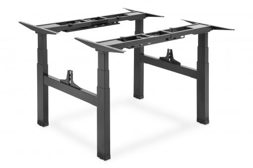 Electric Height-Adjustable Desk Frame, Double Workstation