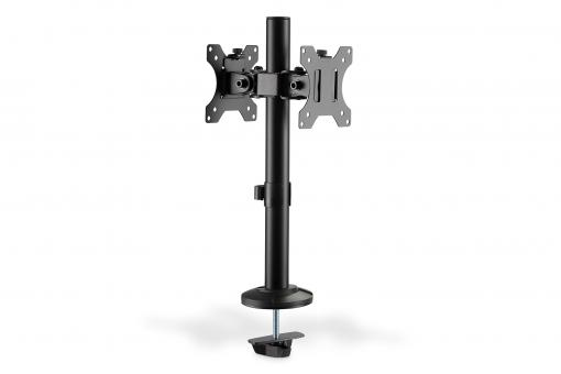 Universal Dual Monitor Pole Mount