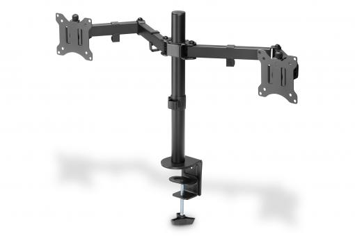 Universal Dual Monitor Clamp Mount