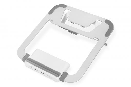 Variabler Notebook-Ständer mit integrierter USB-C™ Docking Station, 8-Port