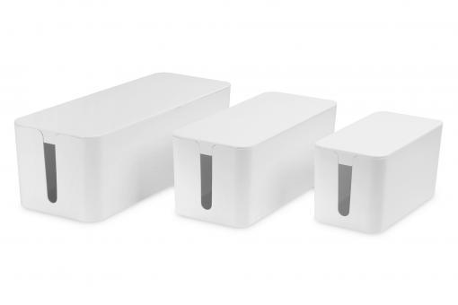 Kabelmanagement Box, 3er-Set (S, M, L)