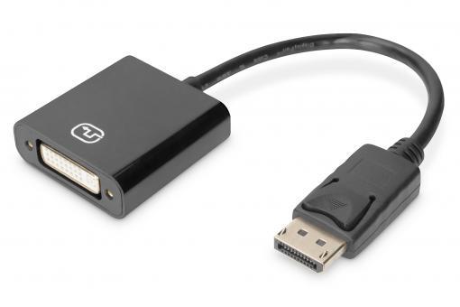 Aktiver DisplayPort Adapter / Konverter, DP auf DVI