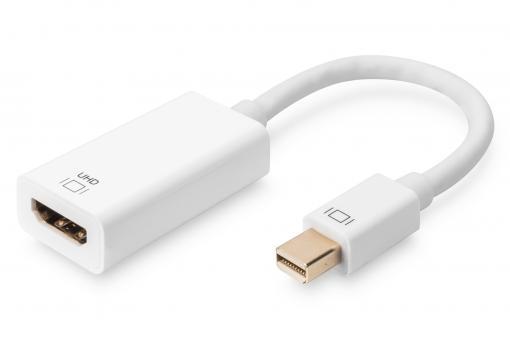 Aktiver Mini DisplayPort Adapter / Konverter, DP auf HDMI
