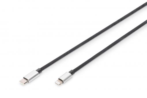 Data/charging cable, Lightning USB-C™, MFI, 1 m