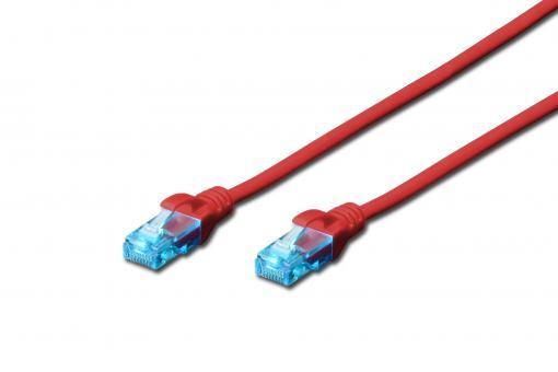 CAT 5e U/UTP patch cord