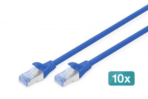 Kabel krosowy CAT 5e SF/UTP, 10 sztuk