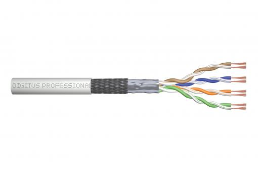 CAT 5e SF/UTP twisted pair patch cord, raw