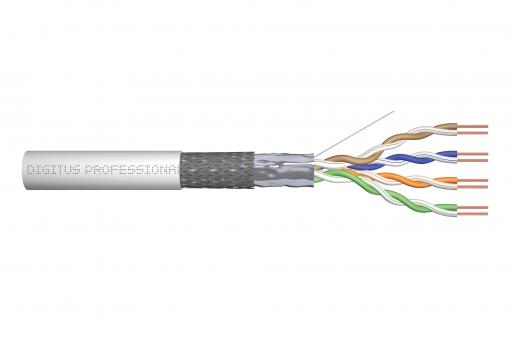 Cat.5e SF/UTP installation cable, 100 m, simplex, Eca