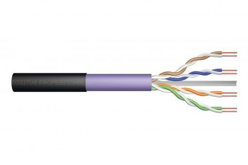 Cat.6 U/UTP burial installation cable, 500 m, simplex, PE