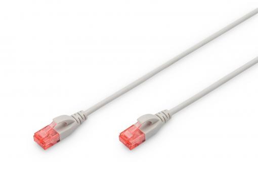 Slim CAT 6 U/UTP slim patch cord