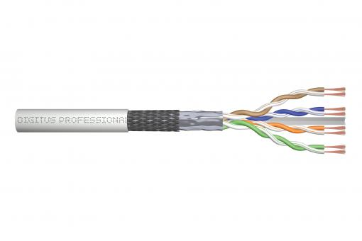 CAT 6 SF/UTP twisted pair patch cord, raw