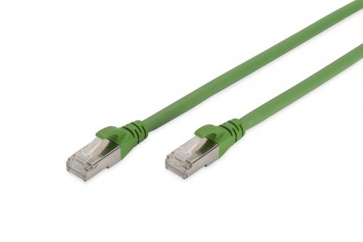 CAT 6A S/FTP patch cord, PUR (TPU)