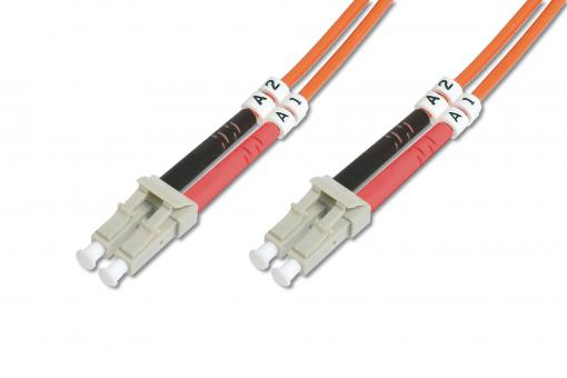 Fiber Optic Multimode Patch Cord, LC / LC