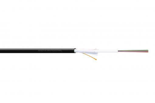 Installation Cable Indoor/Outdoor A/I-DQ (ZN) BH 50/125 µ OM4, 12 fibers, CPR Dca, LSZH-1