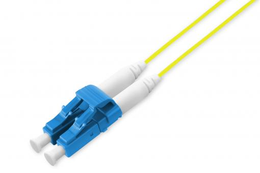 Fiber Optic Singlemode Patch Cord, LC / LC