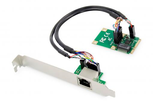 Gigabit Ethernet Mini PCI Express Network Card
