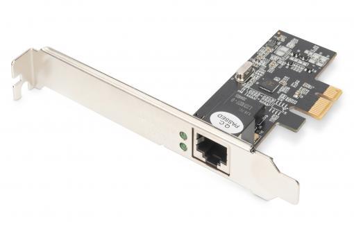 Gigabit Ethernet PCI Express Netzwerkkarte 2.5G (4-Speed)