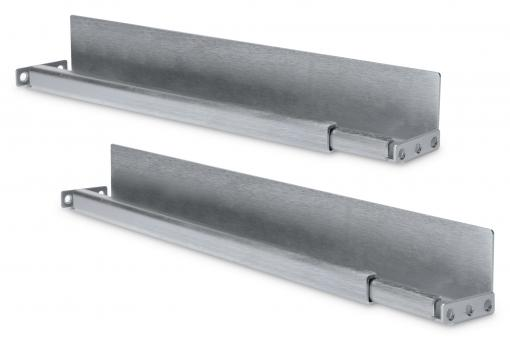 "L-Support Sliding Rails for 483 mm (19"") Network Cabinets"