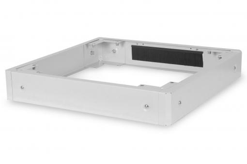 Plinth for Network Cabinets of the Unique & Dynamic Basic Series - 600x600 mm (WxD)