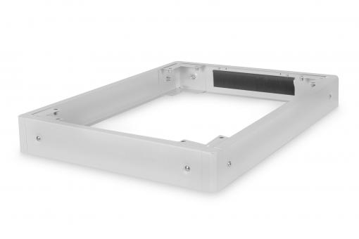 Plinth for Network Cabinets of the Unique & Dynamic Basic Series - 600x800 mm (WxD)