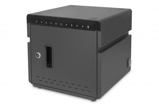 Mobiler Desktop Ladeschrank für Notebooks/Tablets