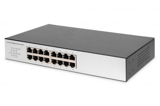 16 Port Fast Ethernet Switch, Unmanaged