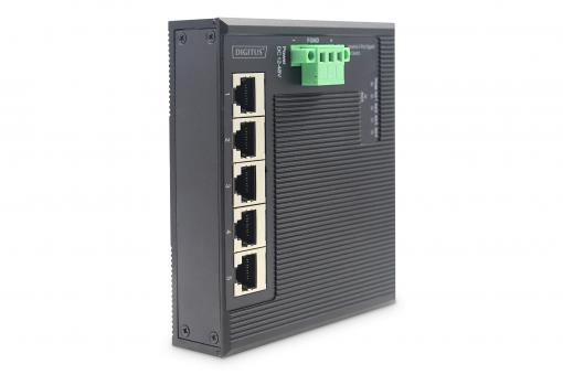 Industrial Gigabit Flat Switch, 5-port