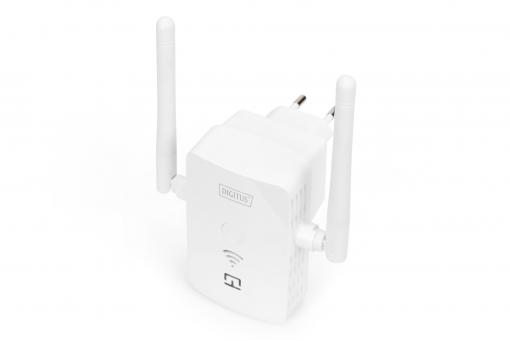 300 Mbps Wireless Repeater / Access Point, 2.4 GHz + USB-Ladeanschluss