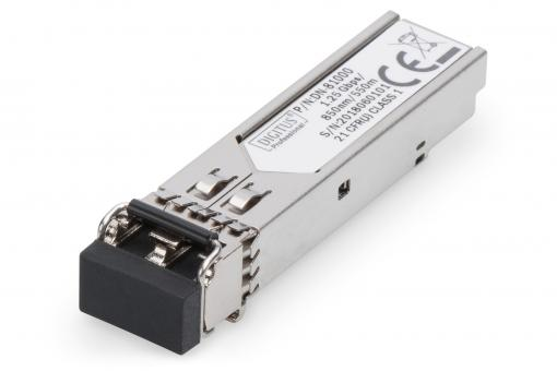 HP-HPE compatible mini GBIC (SFP) Module, 1.25 Gbps, 0.55 Km
