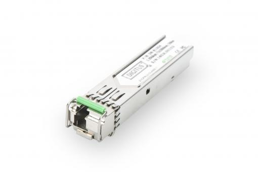 HP-compatible mini GBIC (SFP) Module, 1.25 Gbps, 20km, with DDM Feature