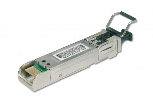 Industrial mini GBIC (SFP) Module, 1.25 Gbps, 20km