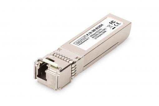 SFP+ 10 Gbps Bi-direktionales Modul, Singlemode, TX1270/RX1330, 10 km