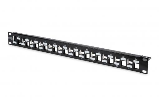 Modular Patch Panel, 24-port staggared