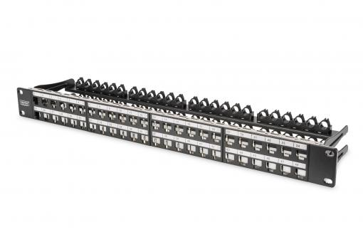 Modular High Density Patch Panel, shielded