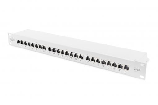 CAT 6A, Class EA Patch Panel, shielded
