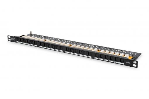 CAT 6, Class E High Density Patch Panel, unshielded
