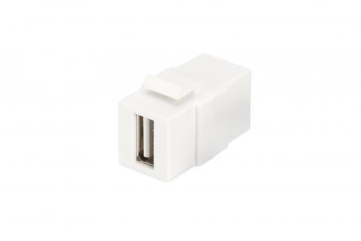 USB 2.0 Keystone Module (Female/Female)