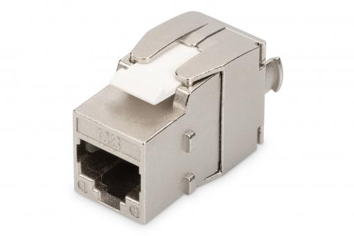 CAT 8.1 Keystone Module, Shielded, Tool-free Connection