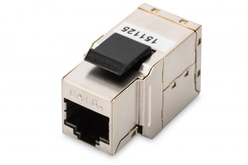 CAT 6A Class EA Modular Coupler, shielded