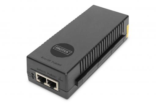 Injecteur PoE+ 10 Gigabit Ethernet, 802.3at, 30 W