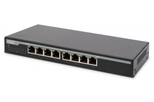 8 Port Gigabit PoE Switch, Unmanaged