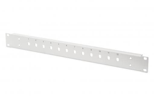 Stahl Frontplatte für 12 ST/SX Kupplungen