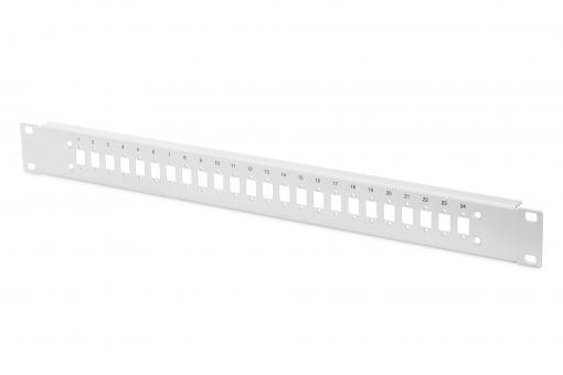 Stahl Frontplatte für 24 LC/DX Kupplungen