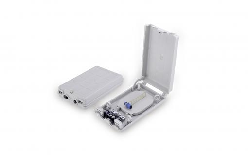 Glasfaser Distributionsbox für den Außenbereich, 8x SC SX