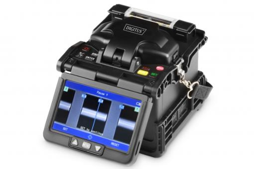 Fusion Splicer for Multimode and Singlemode, 3 Axis, 6 Motors