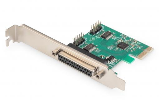 PCI Express Parallel Card, 2/1-port