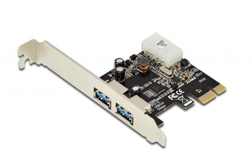 USB 3.0, 2-Port, PCI Express Add-On card