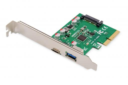 Carte PCIe, USB Type-C™ + USB-A
